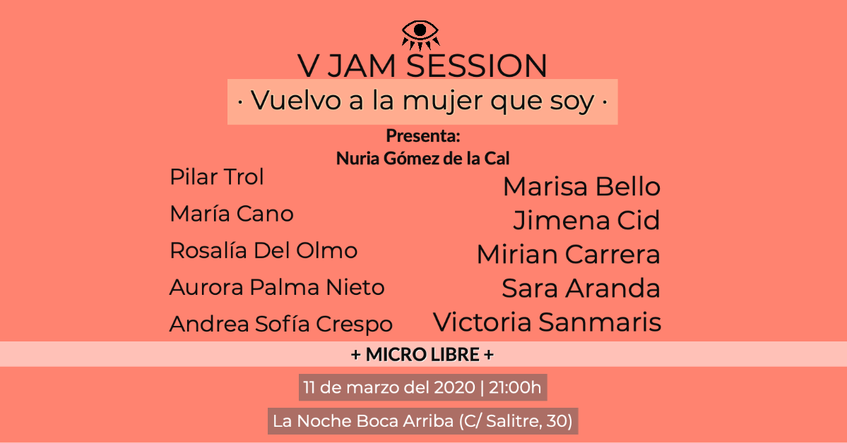 V Jam Session – Vuelvo a la mujer que soy